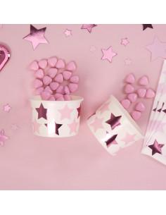 8-coupes-etoiles-roses-deco-baby-shower-bapteme-anniversaire-evjf