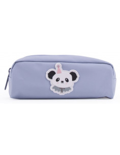 trousse-fond-gris-clair-avec-ecusson-panda-circus-eef-lillemor