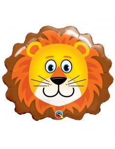 Ballon Tête de Lion en Aluminium
