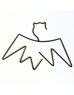 Cintre en Métal Noir Batkid
