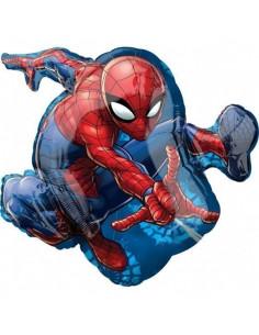 Ballon métallique Spiderman géant 43cmsX73cms